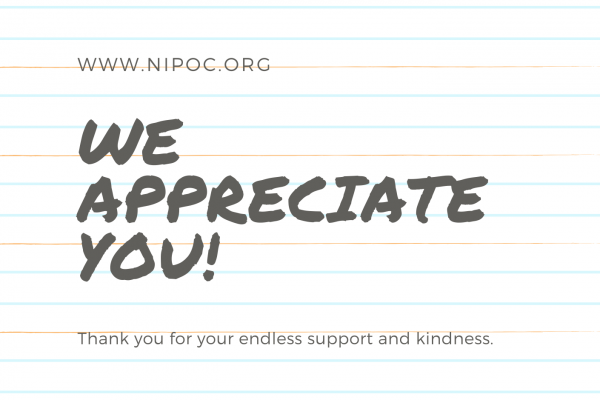 A Message from NIPOC's President